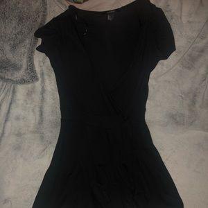 Black Skort dress